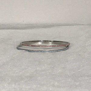 Jewelry - NWT Gorgeous Swarovski Crystal Bangles